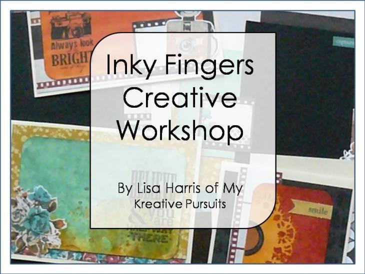 Inky Fingers - Rectangular Image