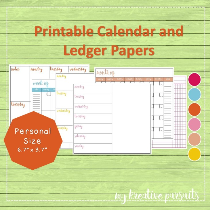 Calendars and Ledgers Square